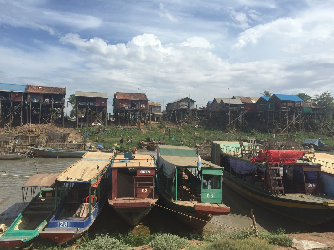 tonle sap, floating village, cambodia, south east asia, travel, sikh, blog, singh, boats