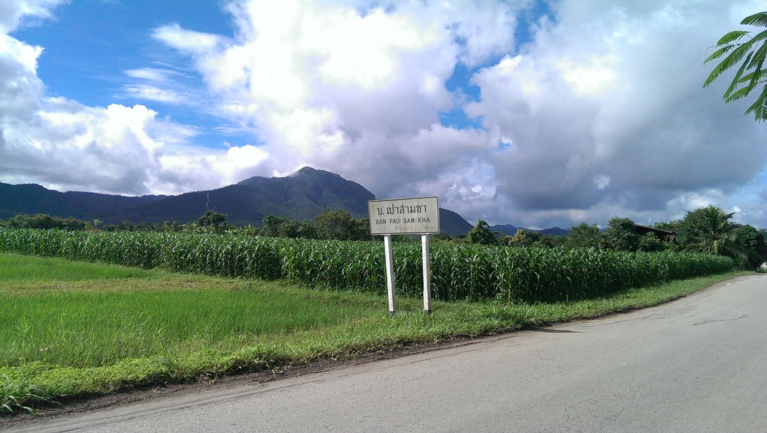 lampang, thailand, travel, sikh, blog, singh, cycling tour, village, fields