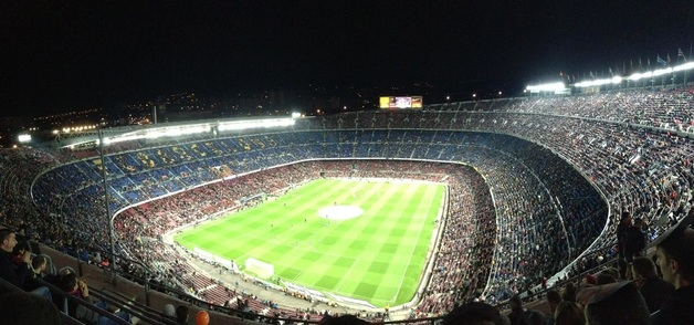 barcelona, spain, travel, sikh, nou camp
